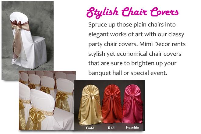 Rentals | Mimi Decor | Wedding and Event Decoration, Rentals, Event